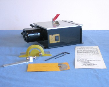 Great Working Mini Micro Mark Table Saw 50304 Hobby Crafts Models Workshop Tool Ebay