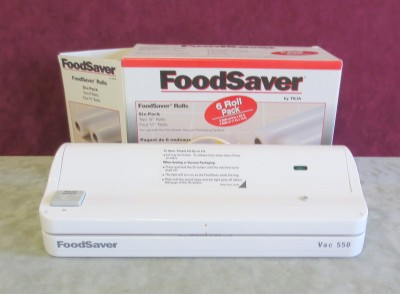 foodsaver vac 550 instruction manual