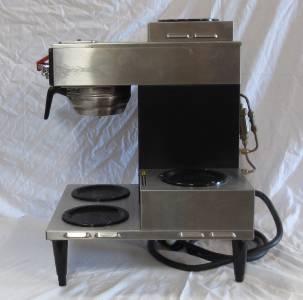 Bunn Coffee Maker Warmer Not Working : Nice Bunn CW Series 4 Burner Commercial Coffee Maker / Warmer w/ Hot Water eBay