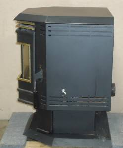 Whitfield Fireplace Pellet Stove Heating Heater Working