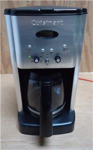 Cuisinart Coffee Maker Amps : Cuisinart DCC-1200 Brew Central 12-Cup Programmable Coffee Maker Black & Chrome