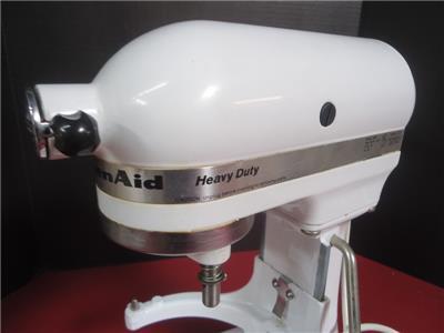 kitchenaid k5ss 5 qt upright heavy duty mixer w extras 50946000046