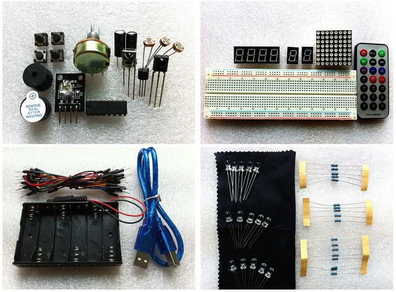 Arduino uno r board starter kit reference pdf study
