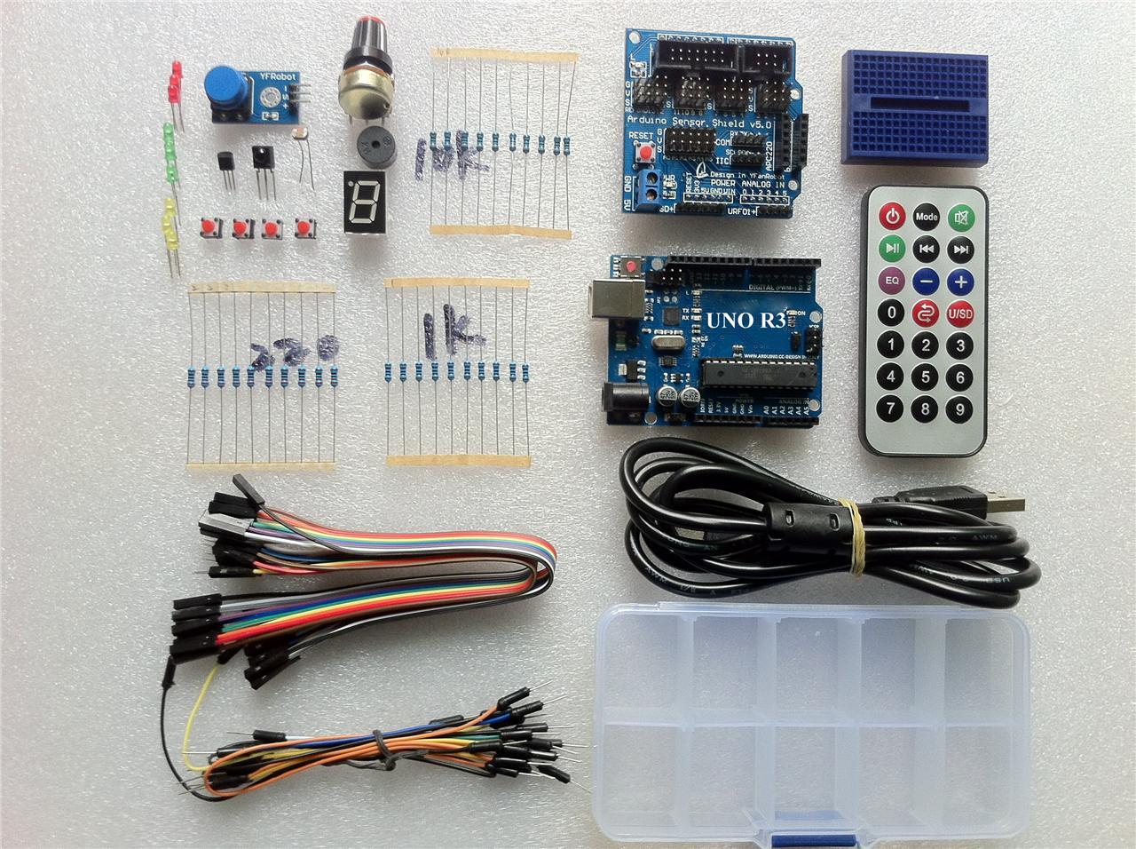 Sintron uno r board starter kit sensor shield pdf