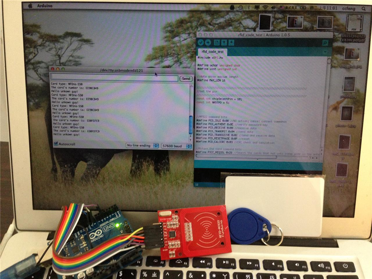 how to use different serial read frequencies arduino uno