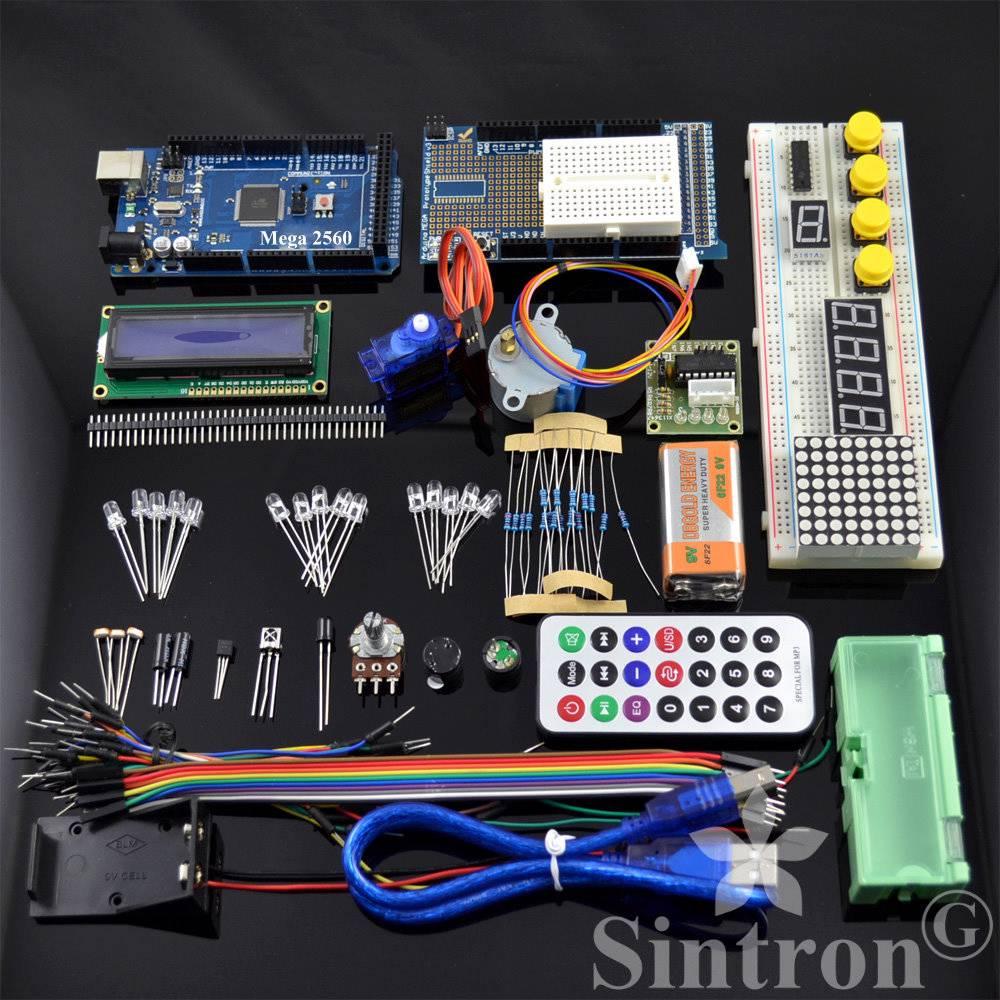 Sintron mega upgrade kit motor lcd servo module