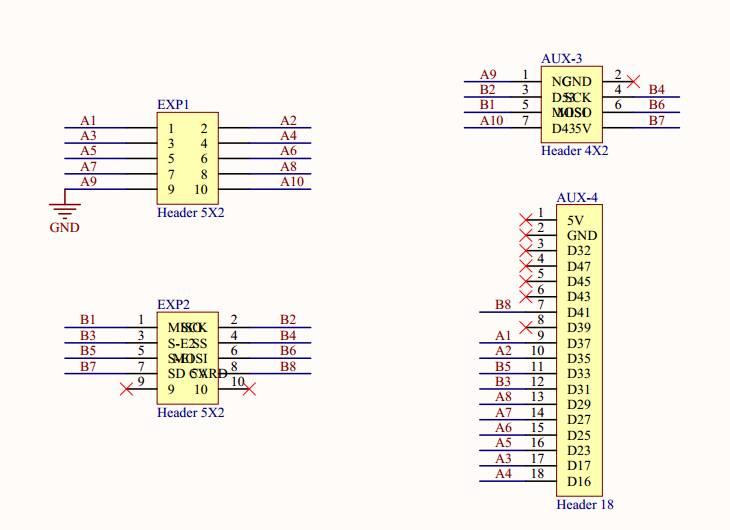 RAMPS 1.4.2 fork: RD3D v1.0 (6 steppers, 24v, Due)