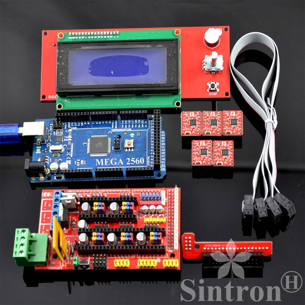 SainSmart RAMPS 14 3D Printer Starter Kit with