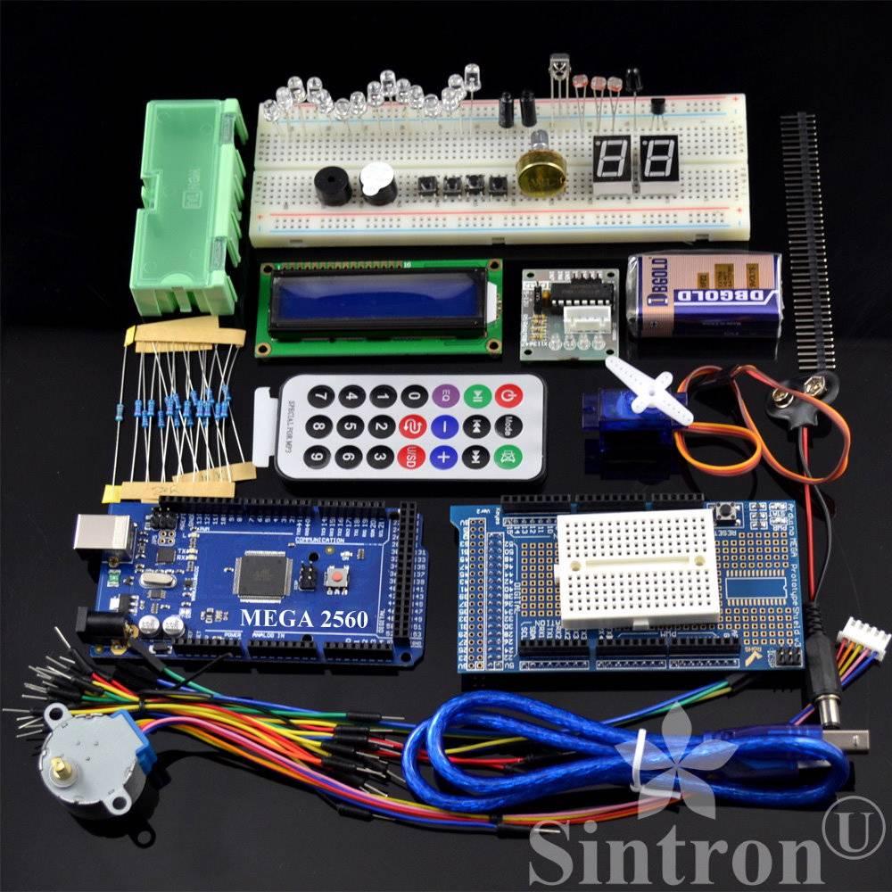 Sintron mega starter kit lcd remote servo motor
