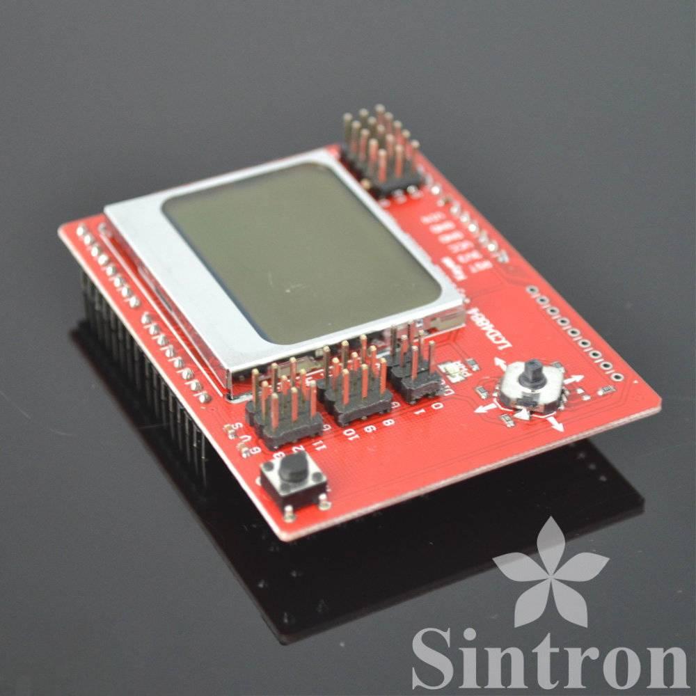 Sintron lcd joystick shield v