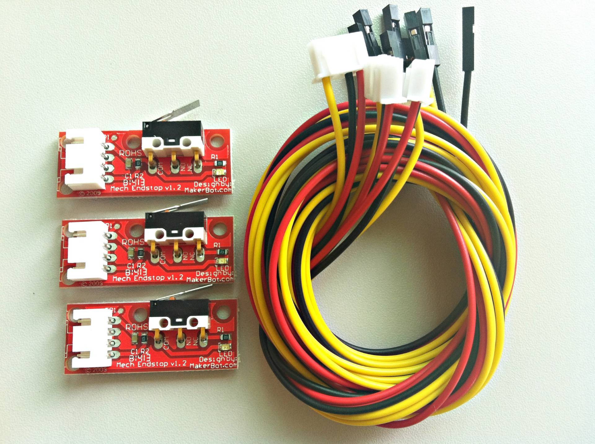3 Pcs Mechanical Endstop Module For 3d Printer Reprap Prusa I3 Printers With Wired Network Cable Diagram The