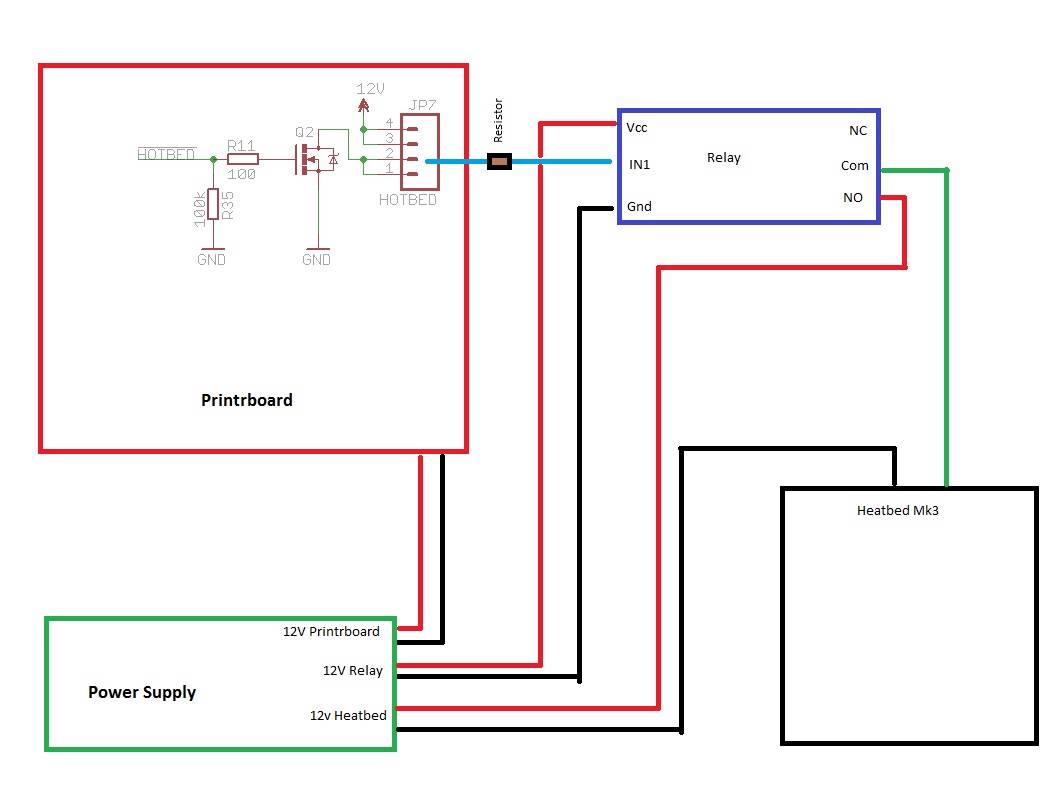 Mk3 Heatbed 3mm Alu Pcb Board For Reprap 3d Drucker Prusa I3   Thermistor  U0026 Wire
