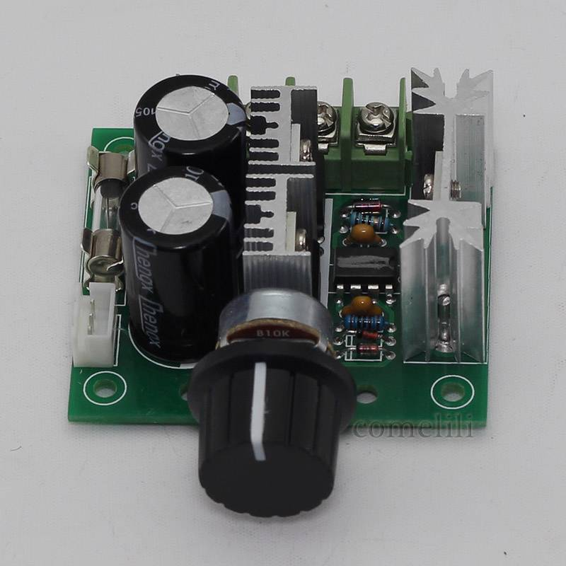 12v 40v 10a Pwm Dc Motor Speed Control Switch Controller