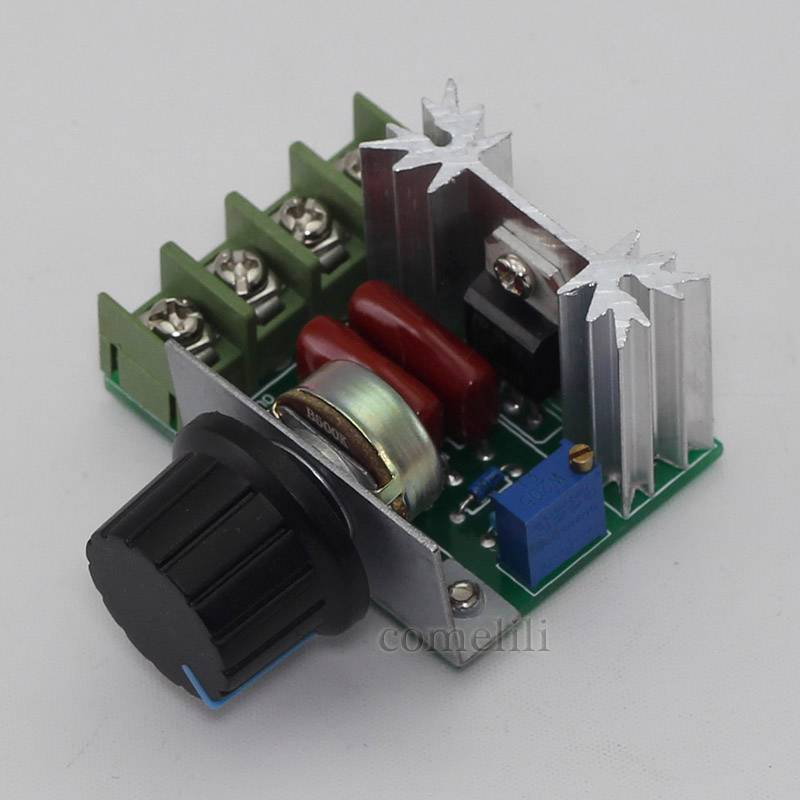 Adjustable voltage regulator ac motor speed control Speed control for ac motor
