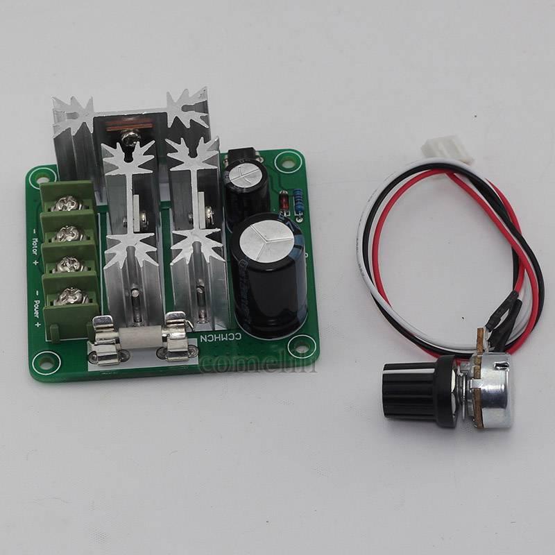 Hi Q Pulse Width Modulator Pwm Dc Motor Speed Regulator