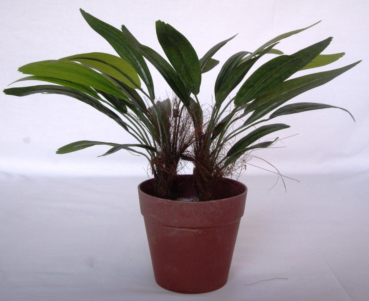 3-Artificial-Plants-Flower-Tree-Mini-Rhapis-In-Pots-Pet-Dog-Cat-Safe-Water-Free