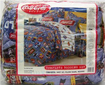 Coca Cola King Size Bedding