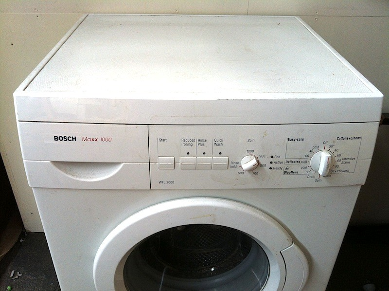 details about bosch maxx 1000 front load washing machine. Black Bedroom Furniture Sets. Home Design Ideas