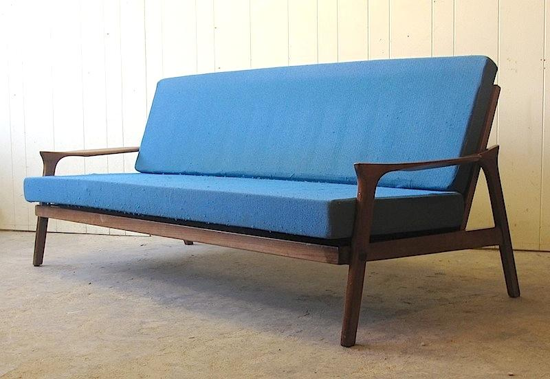 Danish Deluxe Lounge Sofa Bed Couch Retro Fler Parker