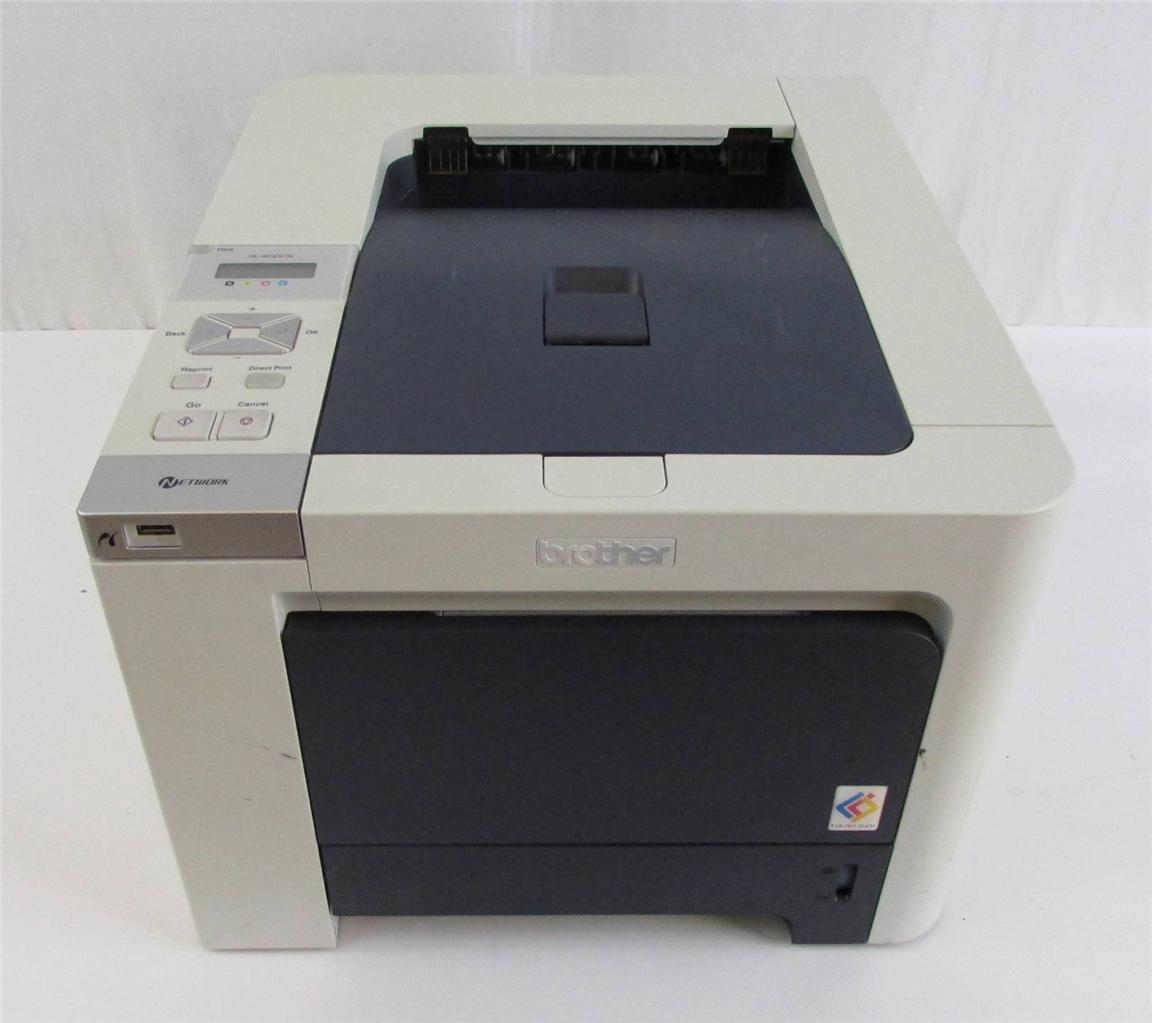 brother hl 4040cn workgroup laser printer ebay. Black Bedroom Furniture Sets. Home Design Ideas