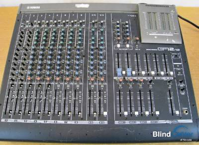 Yamaha gf12 12 12 channel mixer professional mixing for Yamaha mixer replacement parts