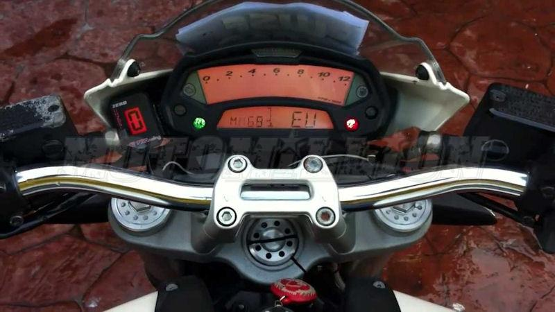 plug and play gear indicator ducati hypermotard monster 696 796 no more wondering which gear you are in or trying to the 7th gear be it at the track or on the street this is a great little addition to your