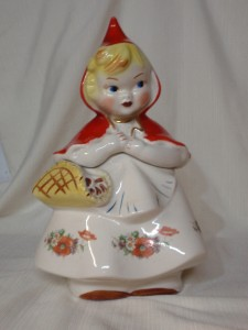 ... Red Riding Hood Cookie Jar 135889 AND Salt & Pepper Shakers | eBay