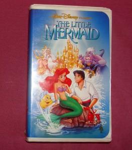 disney the little mermaid vhs 1990 rare banned cover ebay. Black Bedroom Furniture Sets. Home Design Ideas
