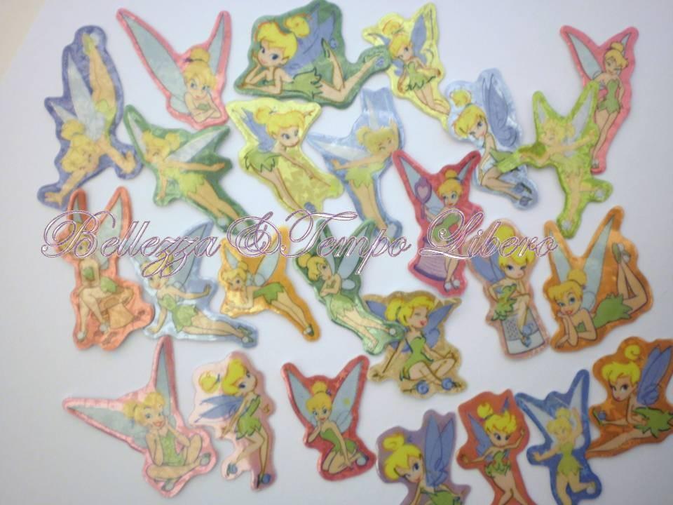 25 adesivi trilly fata di peter pan per cellulare borsa for Cartone animato trilli