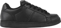 GLOBE-VICE-BTS-YOUTH-SHOES-KIDS-BLACK-LEATHER-AUSTRALIAN-SELLER-FAST-DELIVERY