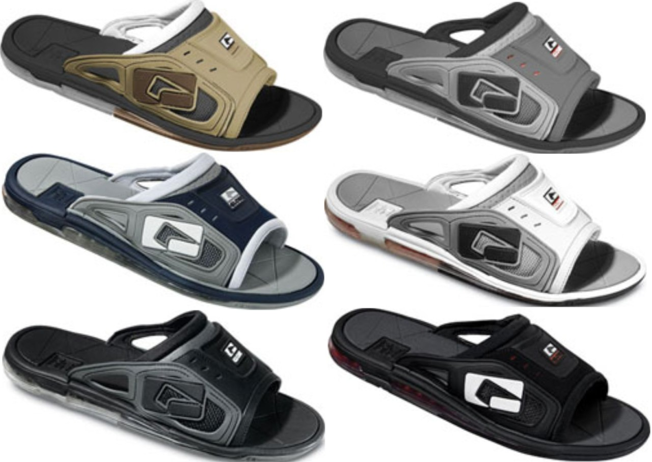 Globe Mens Grappler Plus Thongs Slide Sandals Flip Flops