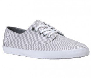 VANS-LADIES-E-STREET-STRIPES-GREY-WOMENS-SHOES-AUSTRALIAN-SELLER-FAST-FREE-POST