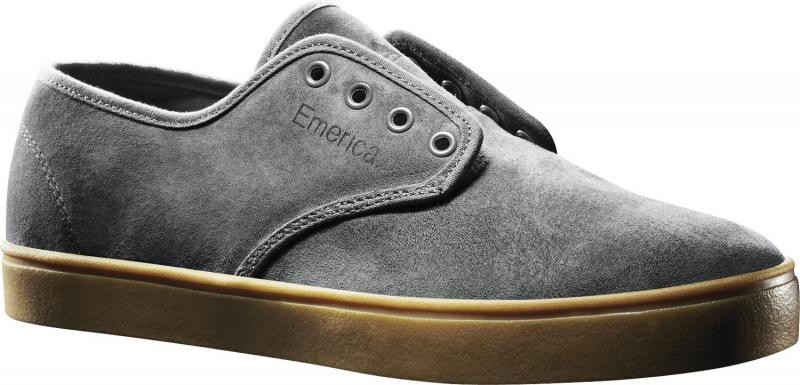 EMERICA-MENS-SHOES-LACED-GREY-CASUAL-SNEAKERS-AUSSIE-SELLER-FREE-POST