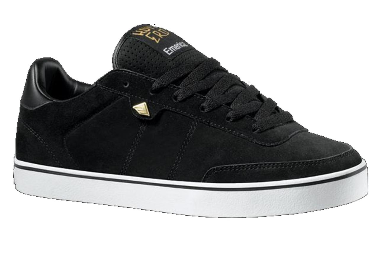 EMERICA-MENS-SHOES-ROMERO-BLACK-WHT-GUM-CASUAL-SNEAKERS-AUSSIE-SELLER-FREE-POST