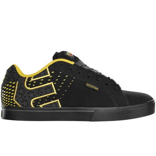 ETNIES-MENS-SHOES-FADER-1-5-BLACK-YELLOW-CASUAL-SNEAKERS-AUSSIE-SELLER-FAST-POST