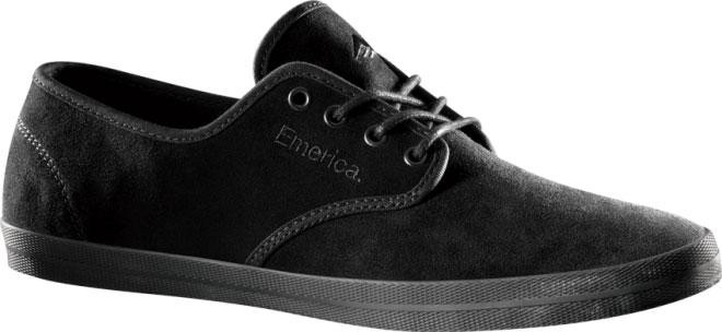 EMERICA-MENS-SHOES-WINO-BLACK-BLK-BLK-SKATEBOARD-SNEAKERS-AUS-SELLER-FREE-POST
