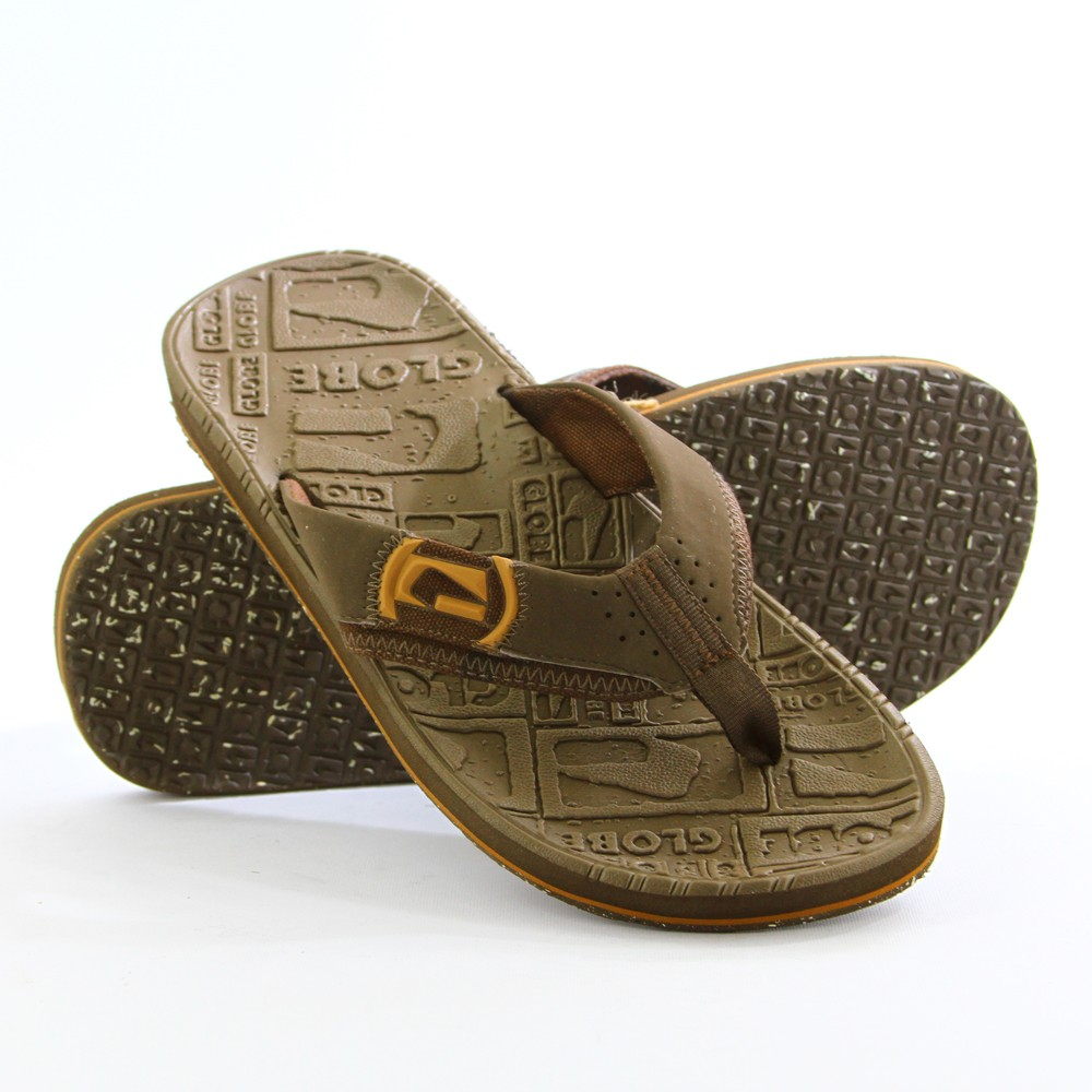 GLOBE-MENS-THONGS-UNDERTOW-CHOCCO-CHK-SANDALS-FLIP-FLOPS-AU-SELLER-FREE-DELIVERY