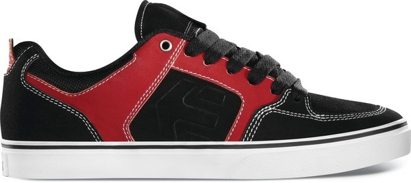 ETNIES-MENS-SHOES-SHECKLER-6-BLK-RED-WHT-CASUAL-SNEAKER-AU-SELLER-FAST-DELIVERY