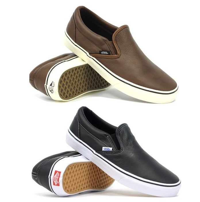 VANS-CLASSIC-SLIP-ON-AGED-LEATHER-MENS-WOMENS-SHOES-AUSSIE-SELLER-FAST-DELIVERY