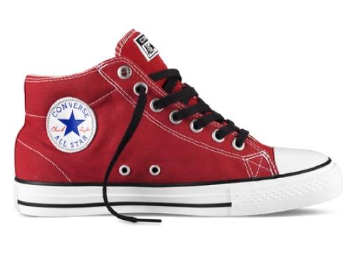 CONVERSE-CHUCK-TAYLOR-MID-CHILLI-WHT-BK-MENS-WOMENS-CASUAL-SHOES-AUSSIE-SELLER