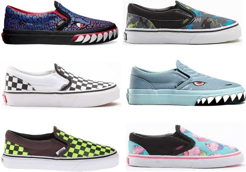 VANS-KIDS-CLASSIC-SLIP-ON-YOUTH-SHOES-AUSTRALIAN-SELLER-SELLER-FAST-DELIVERY
