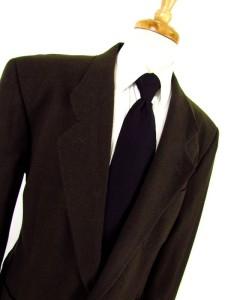 mens brown GIORGIO ARMANI MANI jacket blazer sport coat ITALY wool 2btn XL