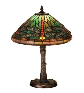 meyda tiffany stained glass table lamp 16 dragonfly mosaic base 26683. Black Bedroom Furniture Sets. Home Design Ideas