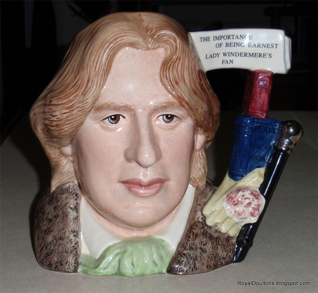 Oscar-Wilde-Royal-Doulton-Character-Toby-Jug-Of-The-Year-2000-D7146-RARE