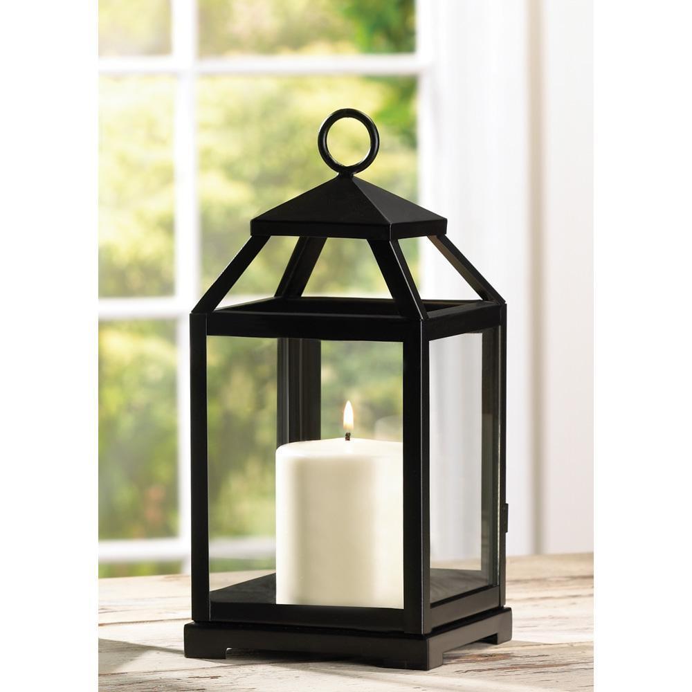 Hanging outdoor candle lanterns for patio - Primitive Rustic Hanging Tabletop Metal Iron Glass Pillar