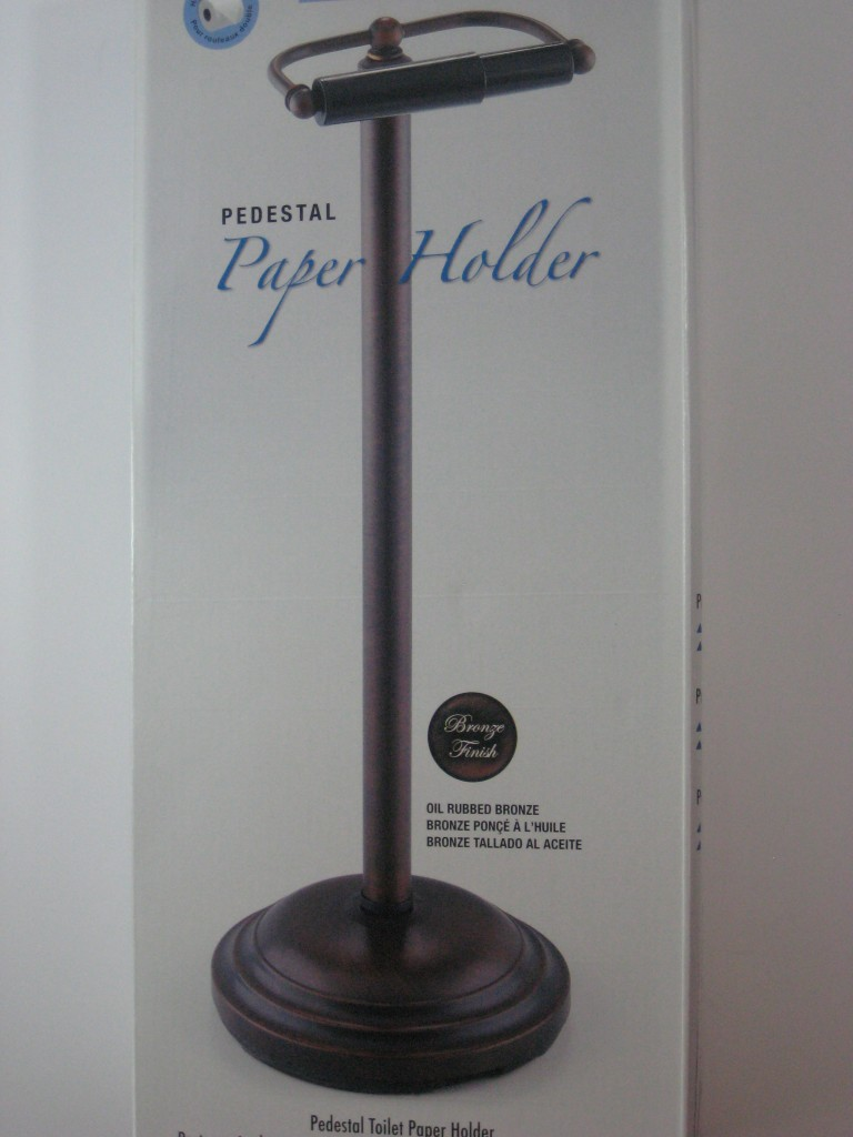 New oil rubbed bronze toilet tissue paper holder pedestal Toilet paper holder free standing