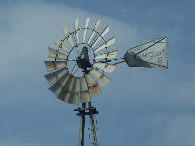 Details about Antique The AEROMOTOR Chicago Windmill 75' 100+ Vintage