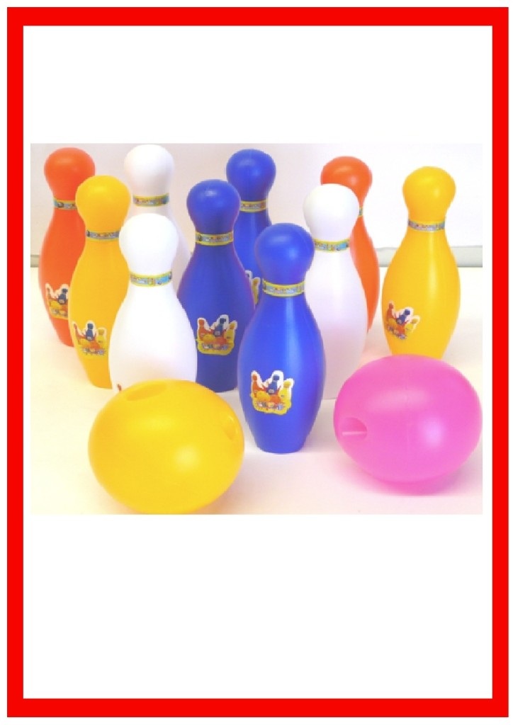 10-Pin-Bowling-12-piece-Set-Kids-Lucky-Dips-Party-Favours-New-Toys