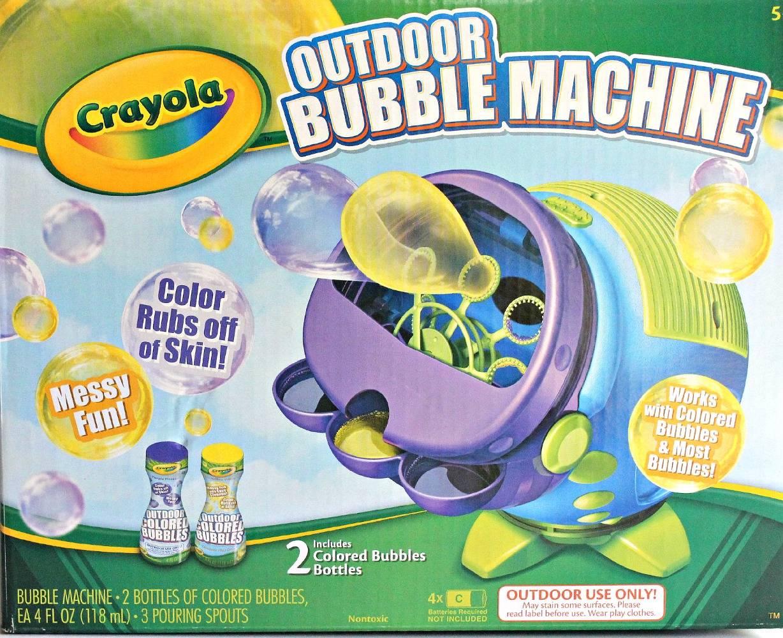 outdoor bubble machine