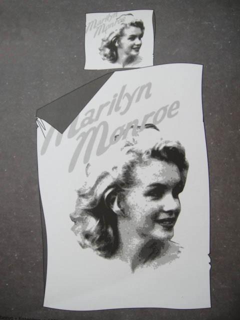 Marilyn Monroe Girl Single Bed Quilt Doona Cover Set